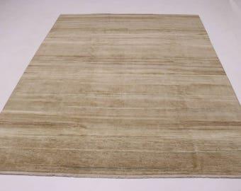 Original Handmade Modern Oversized Gabbeh Persian Rug Oriental Area Carpet 9X13