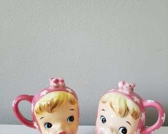 FREE SHIPPING! Napco Miss Cutie pie  shakers