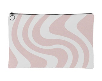 Pink Waves Pouch