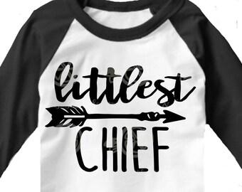Littlest Chief svg, Little boys svg, boys svg, boy shirt, Tribe svg, son svg, brother SVG, DXF, EPS, tribe cut, tribe dxf, arrow svg, arrow