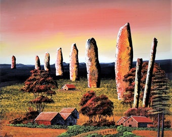 Caranish and Stone crosses