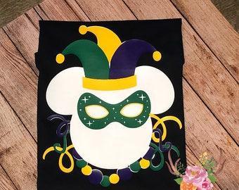 Disney Mardi Gras Shirt