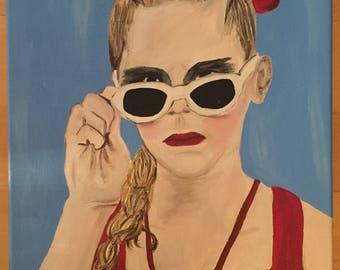Wendy Peffercorn - The Sandlot Acrylic Painting