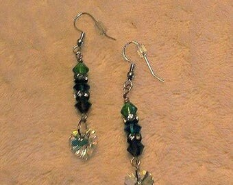 Swarovski Crystal Earrings with Swarovski Elements