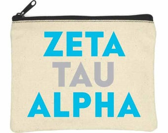ZETA TAU ALPHA Bittie Bag