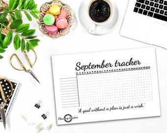 Monthly Habit Tracker, Habit Tracker Stickers, Monthly Tracker, Monthly Daily Habits Stickers, Planner Stickers