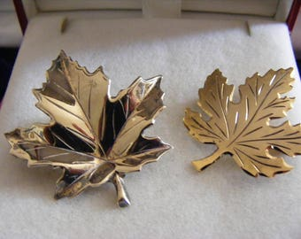 TWO VINTAGE BROOCHES (Sterling)