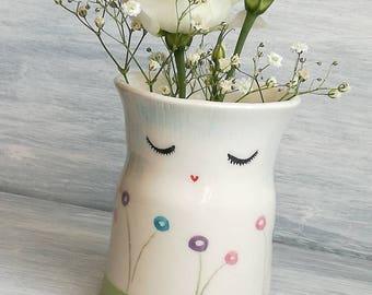 Vase ceramic vase