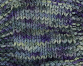 Lichens & Violets 3 ply worsted wt wool yarn