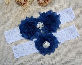 Wedding Garter Blue, Navy Blue Garter, Navy Blue Bridal, Somethig Blue, Garter For Wedding, Garter Navy Blue, Garter Blue, Navy Blue Garter