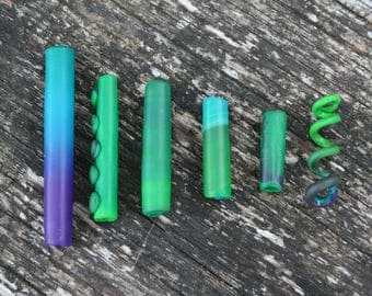 Beads / jewelry for dreads, handmade / Handmade dreadlock beads