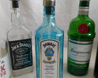 Bombay sapphire gin soap dispenser.