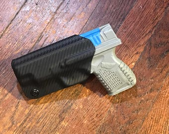 Springfield xds 4.0 kydex holster 9mm 40cal and 45