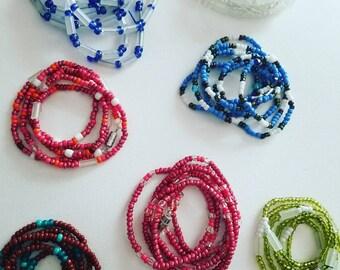CUSTOM NAIJA Waist Beads Handmade African body jewelry belly chain