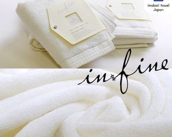 Custom Personalized Embroidered Hand and Bath Towels - Infine imabari towel - Made In Japan - Solid Type