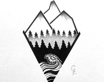 Illustration | Artwork | Fine-Liner | Drawing