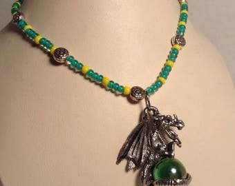 Game of thrones house Tyrell necklace