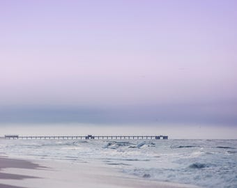 Ocean with Pier Digital Backdrop/Digital Background