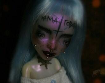SALE! Monster high repaint doll by Dokta Art free shipping monster high ooak