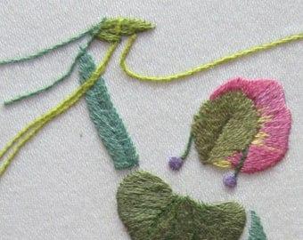 Jongleuse, hand embroidery kit or christmas present