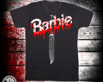 Barbie Killer - Men's (unisex) Tee - Black
