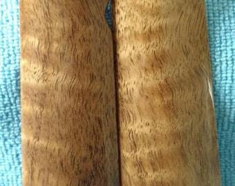 Curly Claro Walnut Full Size 1911 Grips