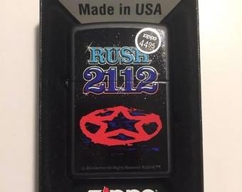Rare Rush 2112 Zippo Lighter