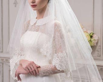 Handmade Wedding Veil '' Jennifer'' On SALE!  20% off with code NYBRIDEJUN
