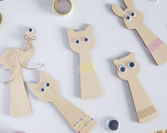 TINY SHADOW PUPPETS diy craft imaginative play