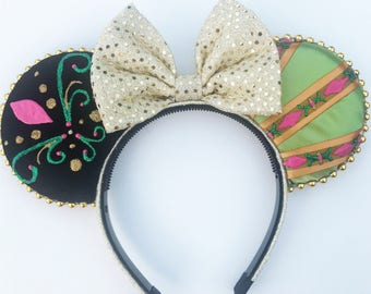 Red Headed Sister Mouse Ears - Norwegian Princess Mouse Ears