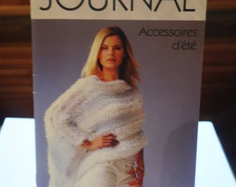 "Book: ""Journal"" summer accessories patterns"