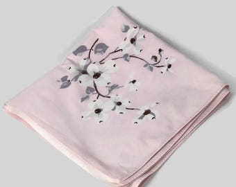 Wilendur Pink Dogwood Tablecloth