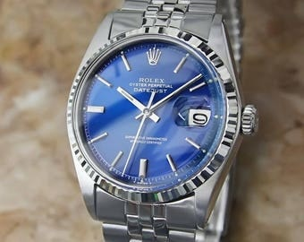 Rolex 1601 18K And Stainless Steel Serial 3926275 1973 Swiss Automatic Watch BB8