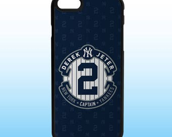 Derek Jeter Custom Iphone Case, Iphone 5, 6, 7, 8, X Plus