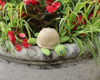 Easy Little Crochet Turtle Vinnie - Pattern