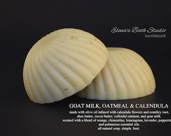 Goat milk, Oatmeal & Calendula
