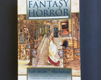 The Years Best Fantasy and Horror Eighth Annual Collection Large Paperback  540 Pages