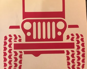 Classic Jeep Decal
