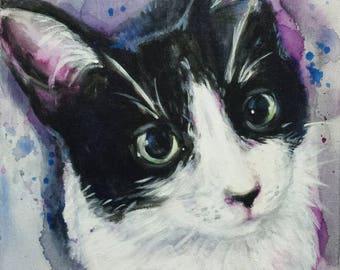 pet portrait custom cat, dog, etc...