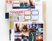 Outdoor Adventures MINI Weekly Kit (stickers for Erin Condren Life Planner - Vertical)