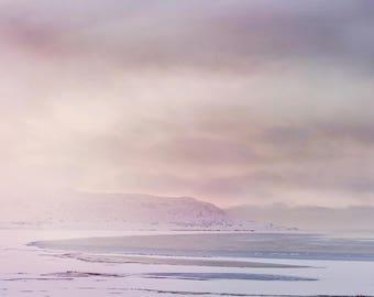Antelope Island Winter Photograph, Utah Photography, Digital Download Photography, Printable Art, Nature Photography,