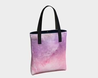 Purple Water Tote Bag