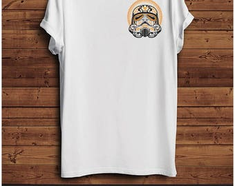 Star Wars StormTrooper Gold T Shirt