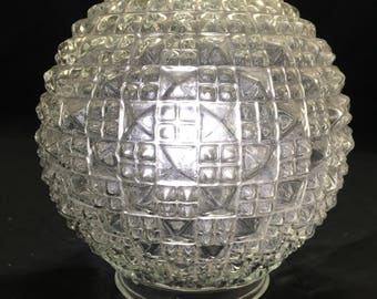 Vintage glass shade