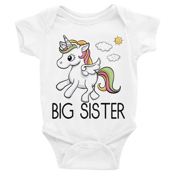 Big Sister Onesie big sister shirt bodysuit, Big Sis, New Sister Onesie, Girls big sis outfit, announcement shirt, baby shirt, Girls Big Sis