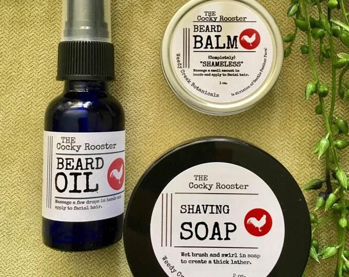Beard Oil, Beard Balm, Shave Soap, Beard Conditioning, Beard Control