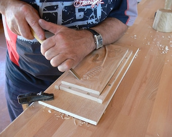 An introductory offer wood carving