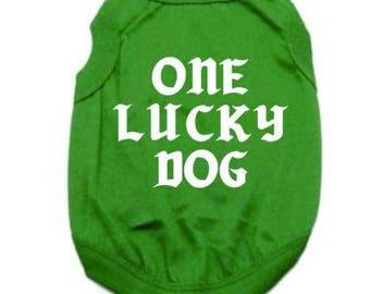 St Patrick's day dog shirt, St. Patrick's day, Dog Shirt, Dog shirts, Shirts for dogs, St. Patty's day shirt