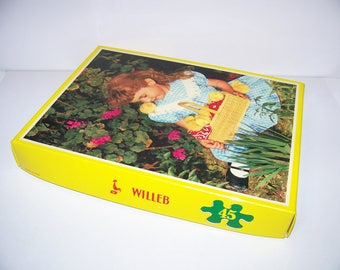 Puzzles x 4 Photos 60s/70s made in France ref 18533 WILLEB