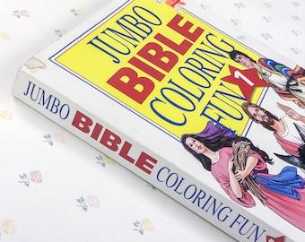 Rare Jumbo Bible Coloring Book